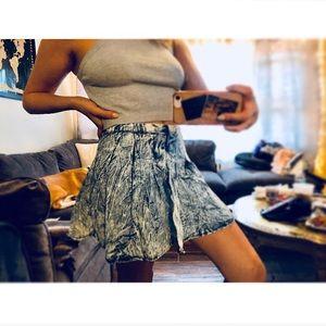 Dresses & Skirts - Washed denim skirt
